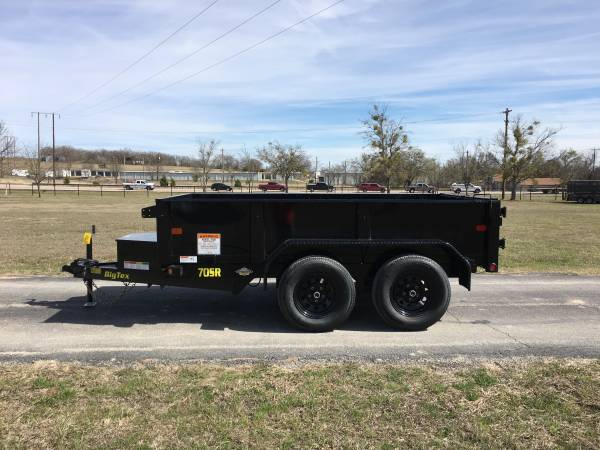 2019 Big Tex 70sr 10 5 X 10 Tandem Axle Dump Trailer